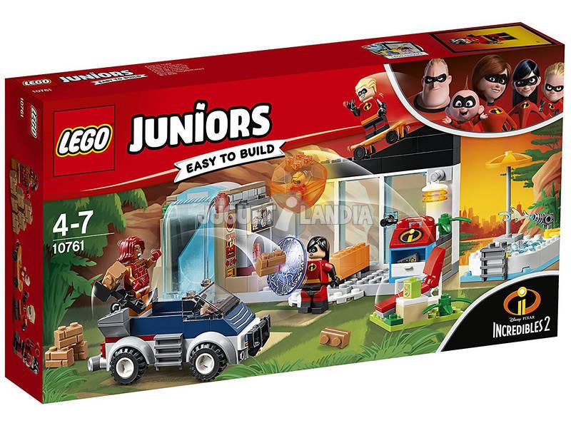 Lego Juniors Los Increíbles 2 Gran Huida de Casa 10761