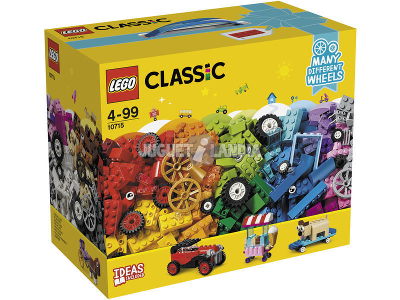Lego Classic Bricks On Wheels 10715