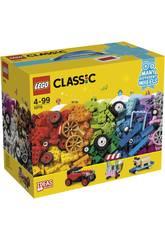 Lego Classic Ladrillos Sobre Ruedas 10715