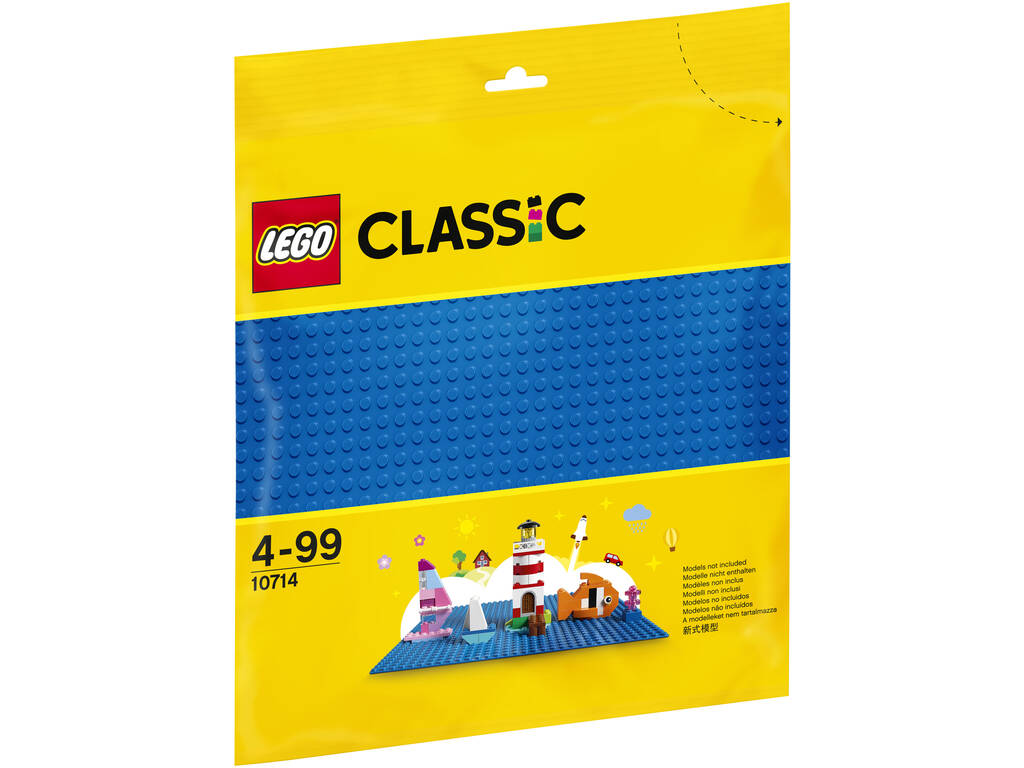 Lego Classic Base Blue 10714