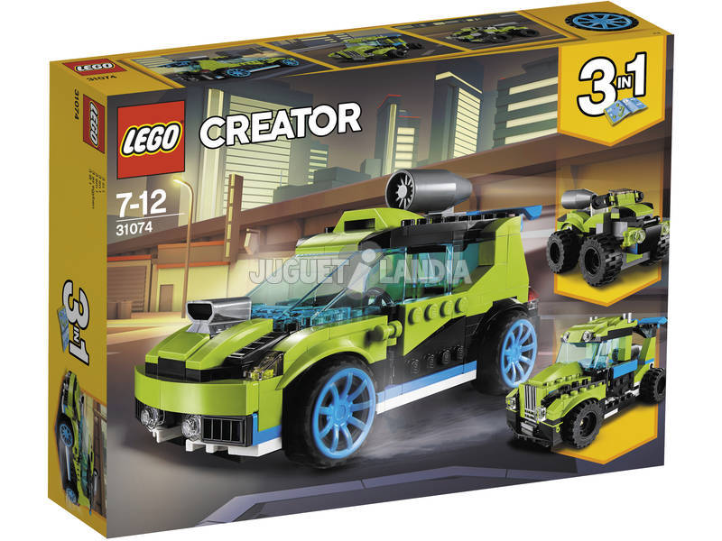 Lego Creator Coche de Rally a Reacción 31074