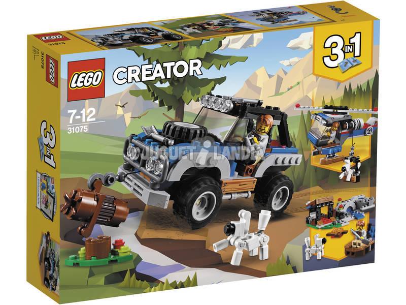 Criador De Lego Longe De Aventuras 31075