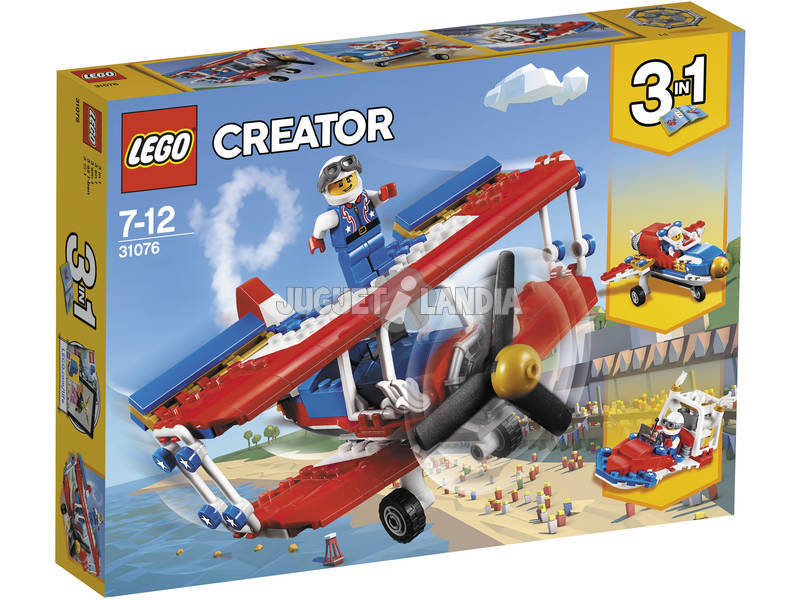 Lego Creator Biplano acrobatico 31076