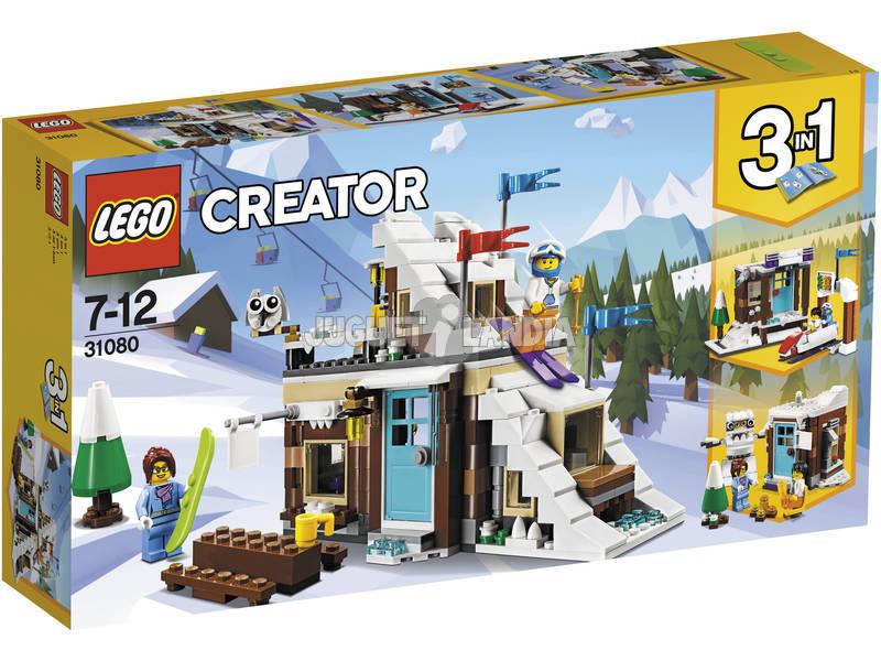 Lego Criador Modular Winter Shelter 31080