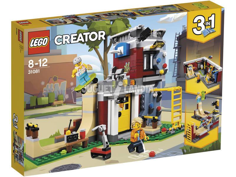 Lego Creator Parque de Patinaje Modular 31081