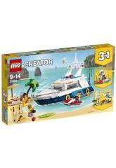 Lego Creator Aventures en Yacht 31083