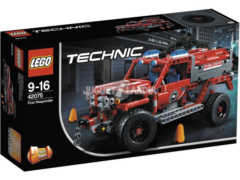 Lego Technic Equipo de Primera Respuesta 42075