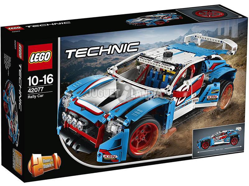 Lego Technic Coche de Rally Mattel 42077