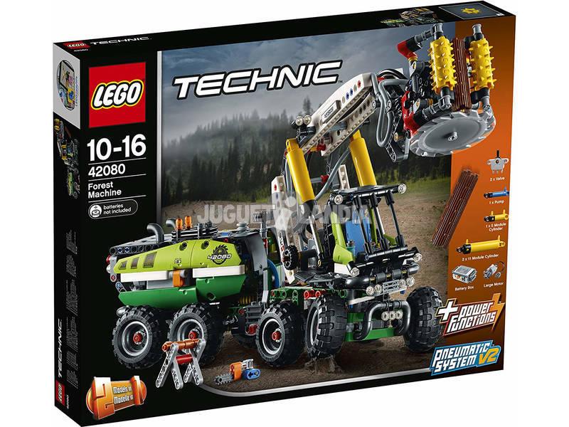 Lego Technic Máquina Florestal 42080
