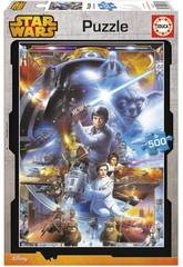 Puzzle 500 Star Wars Educa 16167