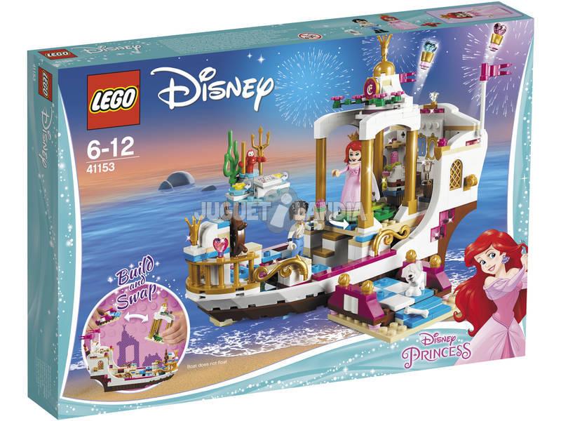 Princesas Lego Barco Real de Cerimônias de Ariel 41153