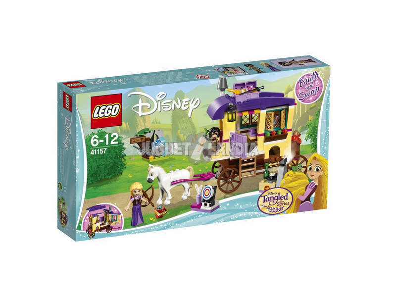 Lego Princesas Caravana de Viagem de Rapunzel 41157