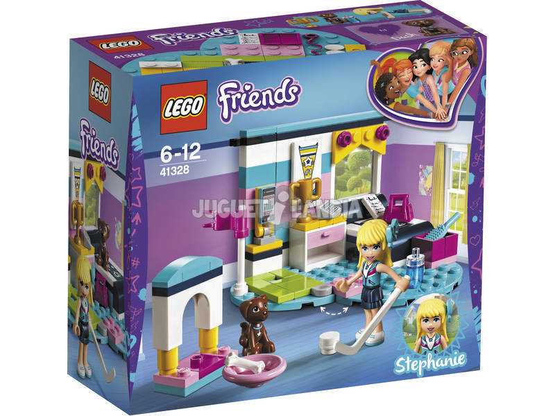 Lego Friends Dormitorio de Stephanie 41328