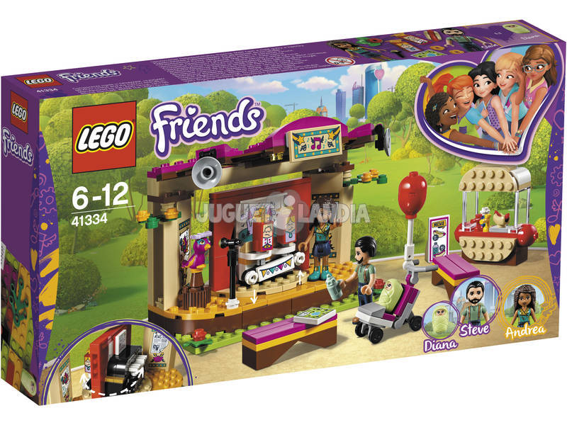 Lego Friends La performance al parco di Andrea 41334