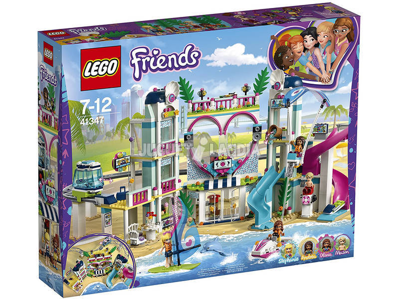 Lego Friends Resort de Heartlake City 41347
