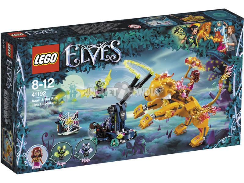 Lego Elves Azari e a captura do leão do fogo 41192