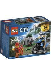 Cidade de lego abrir campo perseguição 60170