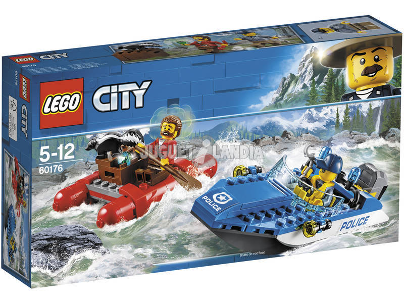 Lego City Huida por Aguas Salvajes 60176