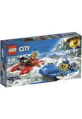 Lego City Fuite sur les Eaux Sauvages 60176