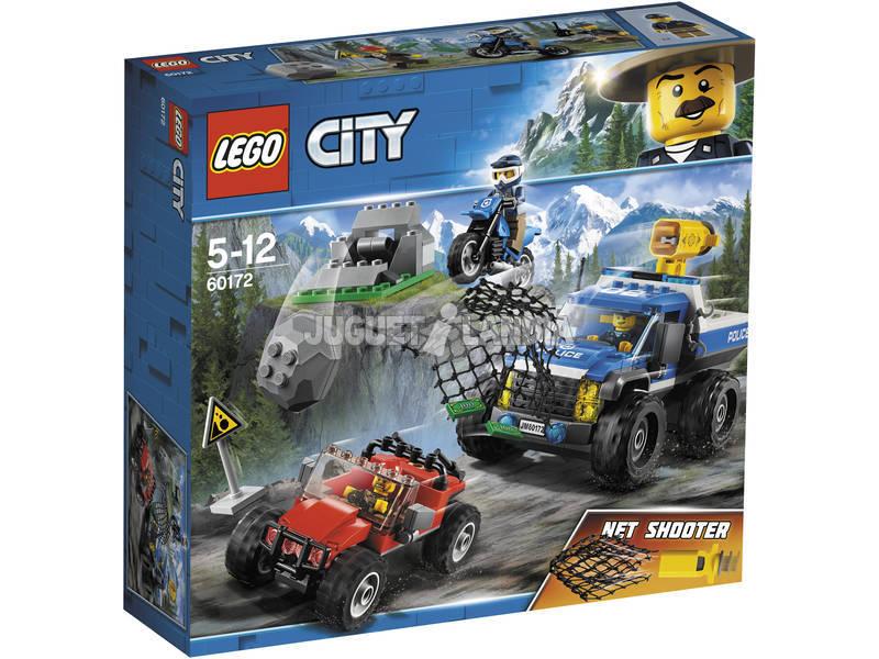 Caça da cidade de Lego na estrada 60172
