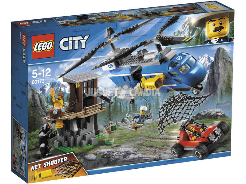 Lego City Montaña Arresto 60173