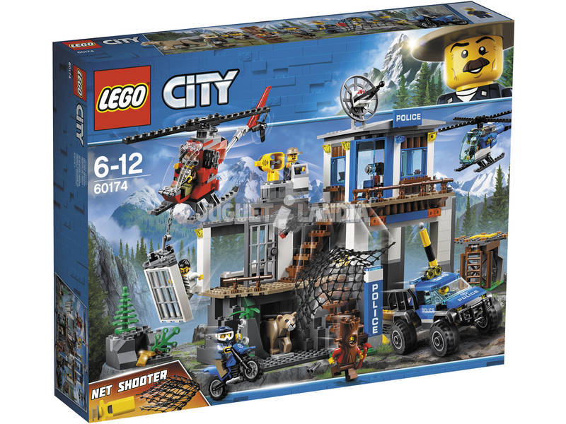 Estação de polícia Lego City Mountain 60174