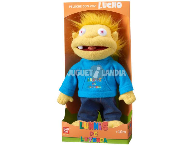 Lunnis De Leyenda Lucho Peluche Con Voz Bandai 80458