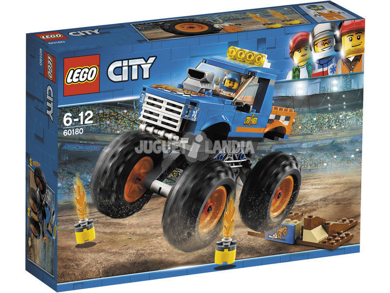 Lego City Camião Monstro 60180