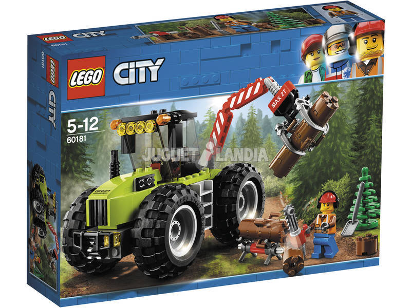 Lego City Tractor Forestal 60181