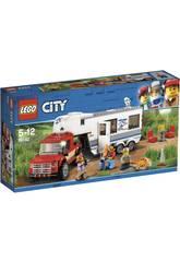 imagen Lego City Camioneta y Caravana 60182