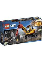 imagen Lego City Mina Martillo Hidráulico 60185