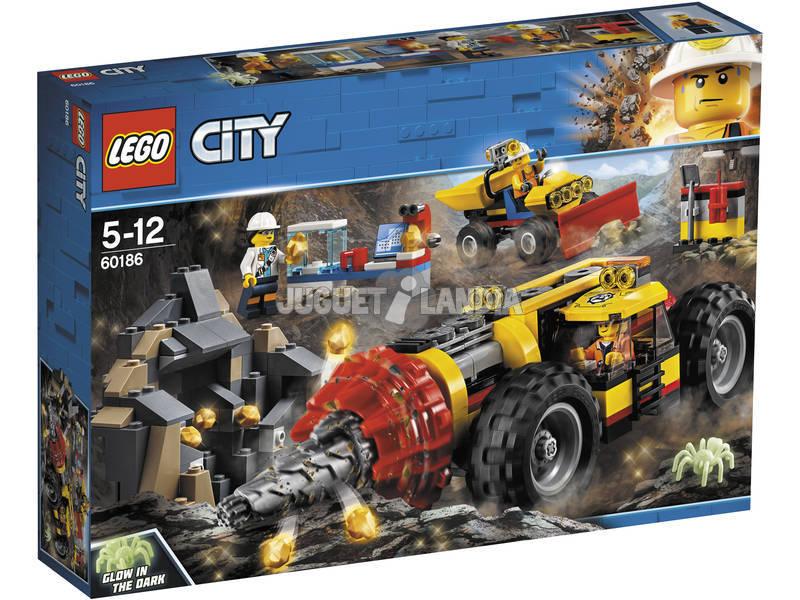 Lego City Perfuração Pesada Mine 60186