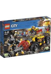 imagen Lego City Mina Perforadora Pesada 60186