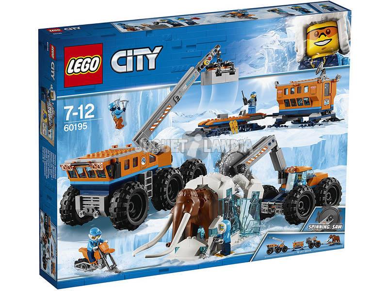 Lego City Ártico Base Móvel de Exploração 60195