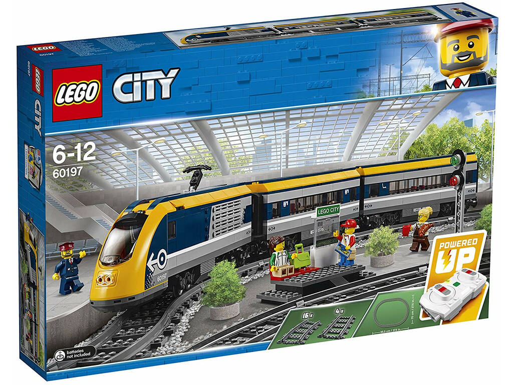 Lego City Treno Passaggeri 60197