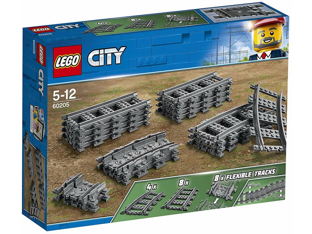 Lego City Vías y Curvas 60205