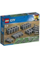 imagen Lego City Vías y Curvas 60205
