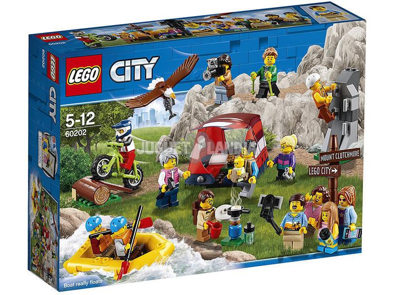 Lego City Pack Figuras Aventuras ao Ar Livre 60202
