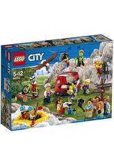 imagen Lego City Pack Figuras Aventuras al Aire Libre 60202
