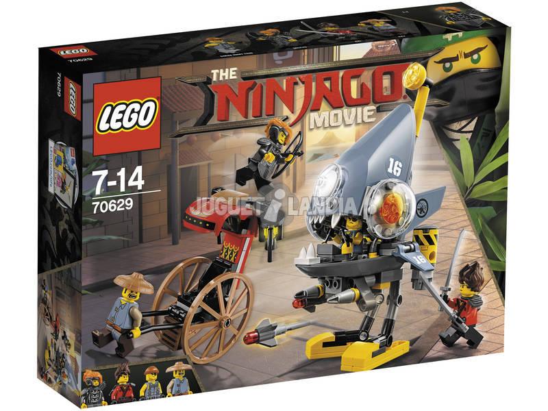 Lego Ninjago Ataque de la Piraña 70629