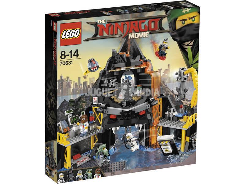 Lego Ninjago Covil Vulcânica Garmadon 70631