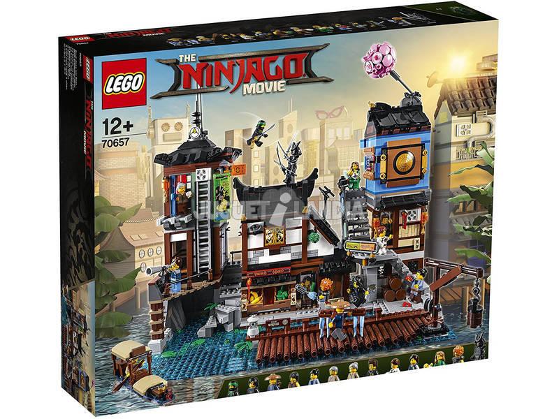 Lego Ninjago Cais da Cidade 70657