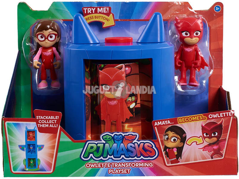 Playset Transformación PJ Masks Bandai 24710