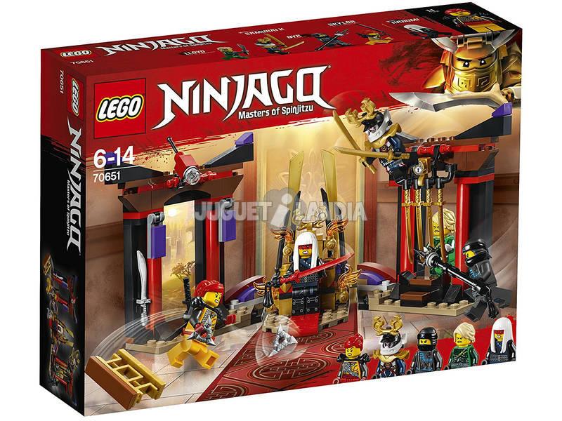 Lego Ninjago Duelo en la Sala del Trono 70651