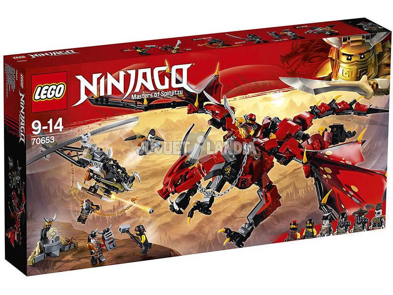 Lego Ninjago Dragone del destino 70653