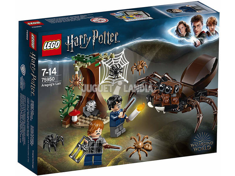 Lego Harry Potter Guarida de Aragog 75950