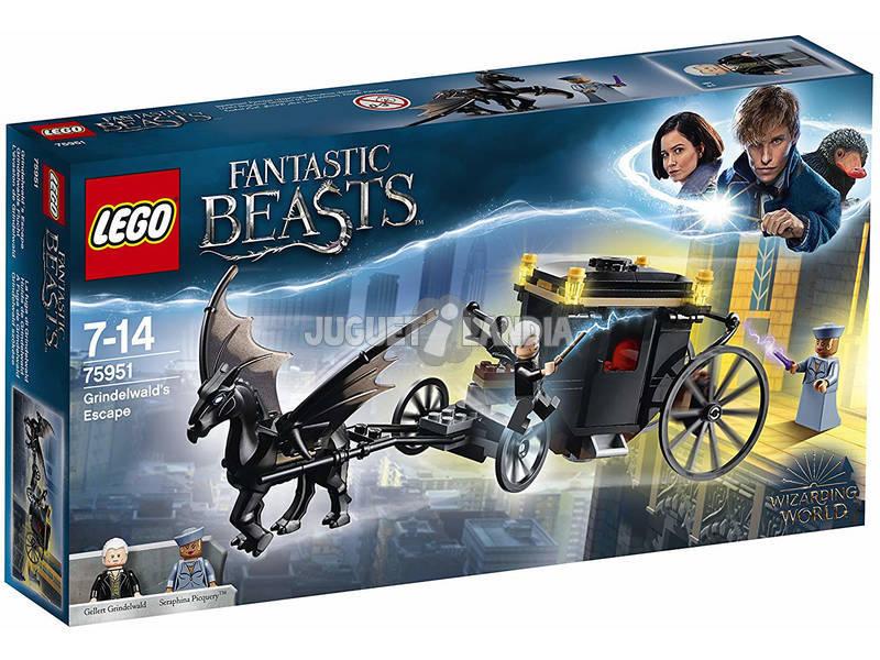 Lego Animales Fantásticos Fuga de Grindelwald 75951