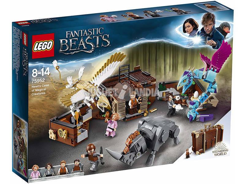 Lego Animali Fantastici La valigia delle creature magiche di Newt 75952