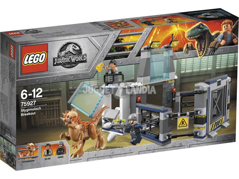 Lego Jurassic World Fuga del Stygimoloch 75927