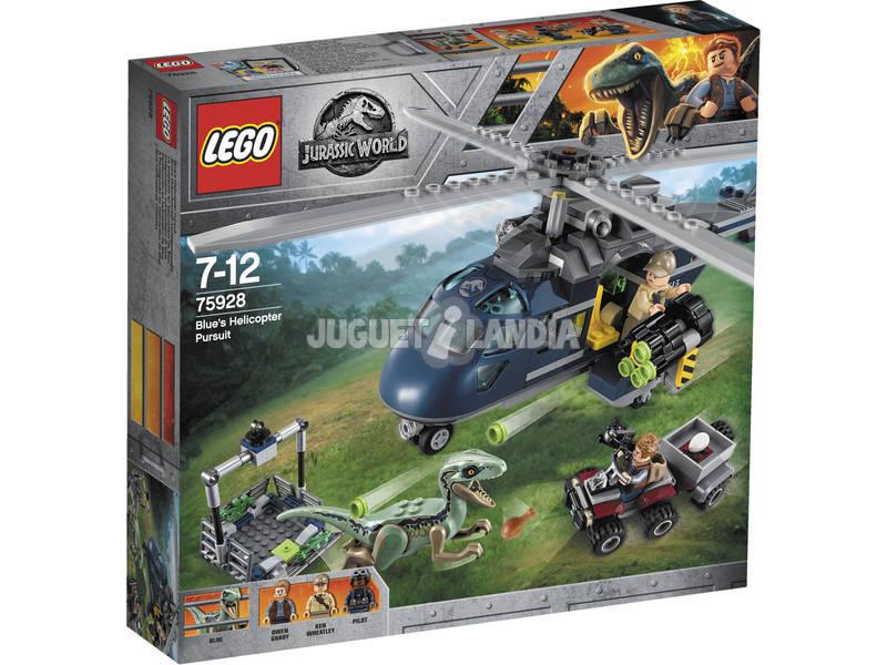 Lego Jurassic World Helicopter Perseguição 75928